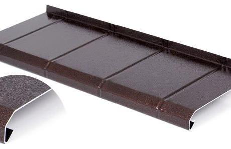 parapet aluminiowy imitacja płytki